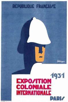 Exposition coloniale internationale - Paris - 1931 - illustration de Bellenger -