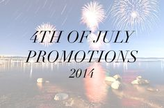 4th of July Sales! See all the hot deals // http://sazan.me