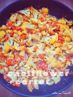 Cauliflower Carrot Curry Winter Warmth IntensePursuits