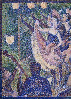 George Seurat | Study for 'Le Chahut', c1889 | The Courtauld Gallery