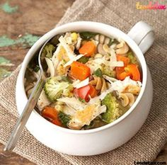 Chicken and Veggie Soup ..