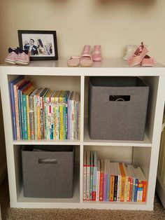 Pink and grey nursery - baby girl nursery