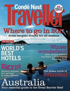 conde nast traveler magazine waste money