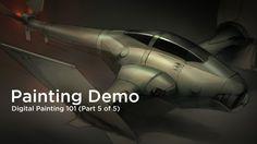 Digital Painting 101- (5 of 5) - Demo
