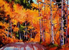 Aspen Road, by Mike Svob