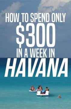 $300 for a week in HAVANA | ViaHero