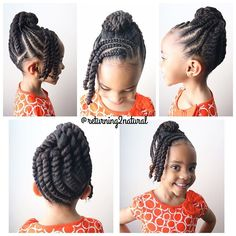 Children's Natural Hairstyles Simple Cornrows Style  Toddler Lifestyle  Pinterest  Cornrows