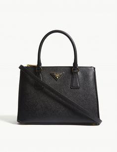 7d9bb2131c66ae Galleria Saffiano leather bag in 2019   fashion   Bags, Prada, Large bags