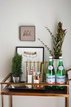 Gold + Marble Deco Barware Collection from west elm