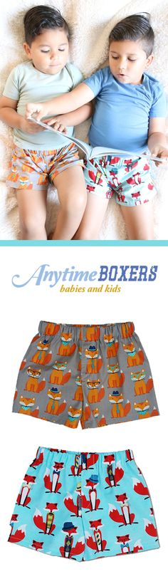 Baby Boys Toddler Kids Boxers Briefs; Boxers Hombre, Children Underwear for Boys; Boxers for Boys Baby boxer shorts are basically the cutest thing ever. He'll look just like Daddy's mini-me in this precious pair! Size: Infants 12m to 24m; Toddlers: 2t-4t; Boys: 4-6 From: $12.99