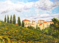 """""""View From Bella Vista Hotel""""  Giclee print"""