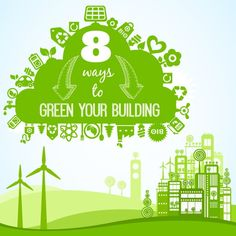 8 ways to make your building more #energy efficient. #Green