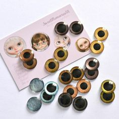 Shop update with more handpainted eyechips!