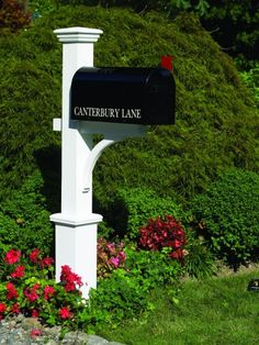 Lazy Hill Farm Designs Canterbury Mailbox Post