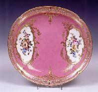 Sevres Porcelain rose Pompadour