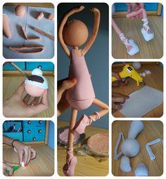 fun foam doll ballerina (photo tutorial)