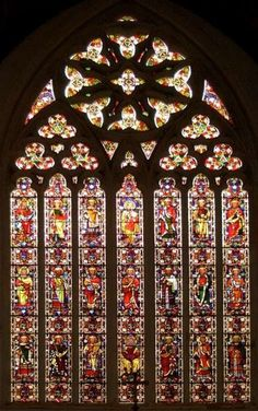 St. Paul's Parish Church. Beautiful, loved stained glass!