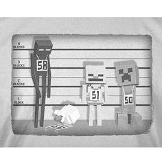 Minecraft Lineup Youth Tee Shirt - Radar Toys  - 2