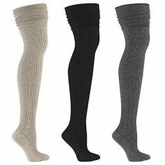 Thigh high socks!