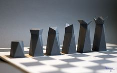 Paper Chess on Behance