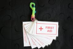 First Aid Cards for YW Camp Certification