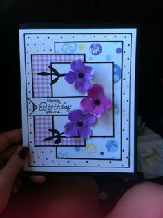 A card i made for my mom!