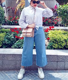 Hijab Chic, Hijab Outfit, Mom Jeans, Ootd, Pants, Outfits, Fashion, Trouser Pants, Moda