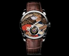 Jazzy (pun intended), but definitely not gaudy, the Tonda Mambo timepiece from Parmigiani Fleurier celebrates the luxury watch manufacturer's sponsorship o