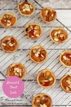 almond & fruit tarts