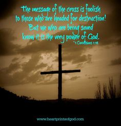 Heartprints of God: The Message of the Cross~<3