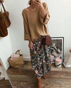 Hijab Fashion, Boho Fashion, Fashion Outfits, Fall Winter Outfits, Autumn Winter Fashion, Classic Outfits, Casual Outfits, Mode Lookbook, Mode Boho