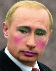 Vladimir Putin aka lady Putin