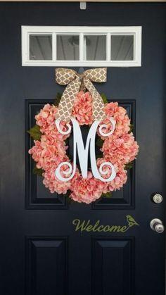 40 Front Door Initial/Monogram Ideas