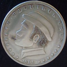 Don Wolfe Wolf, Hobo Nickel, Buffalo, Classic Style, Carving, The Originals, Wood Carvings, Wolves, Sculptures
