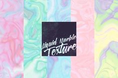 Liquid marble texture by OVJECT on @creativemarket