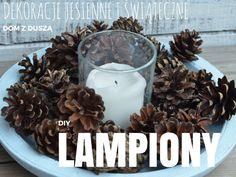 DIY: Ozdoby jesienne. ozdoby świąteczne. ozdoby Boże Narodzenie - lampiony