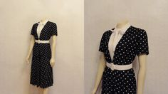 Vintage Dress 60s 70s Secretary Dress & by 2sweet4wordsVintage, $49.99