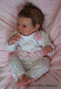 REBORN DOLL NEWBORN BABY GIRL SCULPT GABRIEL BY MICHELLE FAGAN