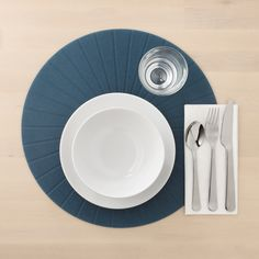 IKEA - PANNÅ, Place mat, black, Protects the table top surface and reduces noise from plates and flatware. Save For House, Kallax, Cleaning Wipes, Pot Holders, Coasters, Sweet Home, Table Settings, Plates, Design