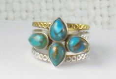 Hey, I found this really awesome Etsy listing at https://www.etsy.com/listing/225445584/vintage-wide-sterling-silver-gold-vein