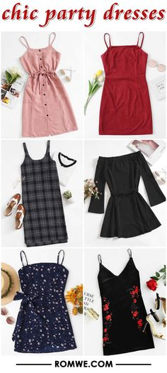 chic party dresses
