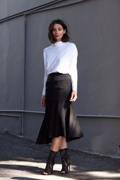 How To Wear Black And White Without Being Boring