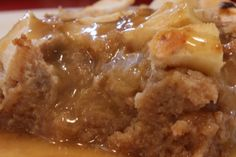 Bread pudding recipe: Amazing apple bread pudding with vanilla sauce