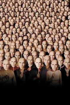 BEING JOHN MALKOVICH. I'm going to have nightmares.