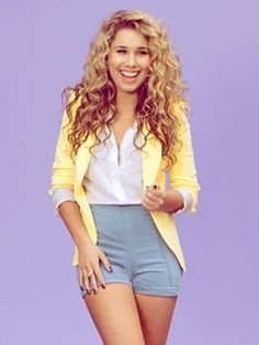 'American Idol' alum Haley Reinhart releases video for 'Free,' talks about her upcoming album Hailey Reinhart, My Beauty, Hair Beauty, Yellow Blazer, American Idol, Hair Today, Woman Crush, Cute Hairstyles, Her Style
