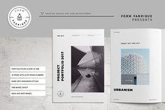 Studio Portfolio by Form Fabrique on @creativemarket