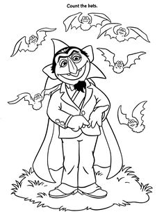 sesame street coloring pages count google search