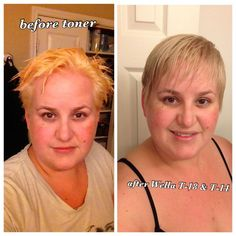 Image Result For Wella Color Charm Toner T28 Before And After