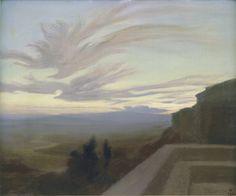 La Vallée du Tibre à Assise, 1898, Charles Marie Dulac