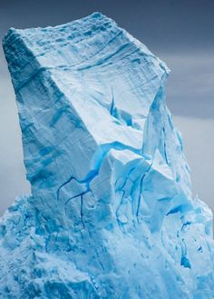 Cruising the South Orkney Islands, our first large icebergs were encountered. Even the seasick came out for these. By Rice Jackson ❄ Snow And Ice, Fire And Ice, Iceberg, Arctic Ice, Glacier, Ice Sculptures, Winter Scenery, Winter Snow, Natural Wonders